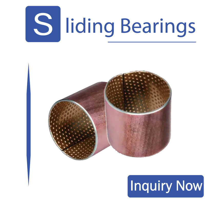 CuPb10Sn10 SAE792 bimetal bearings ISO3547 DIN1494 For Heavy Duty Vehicle supplier