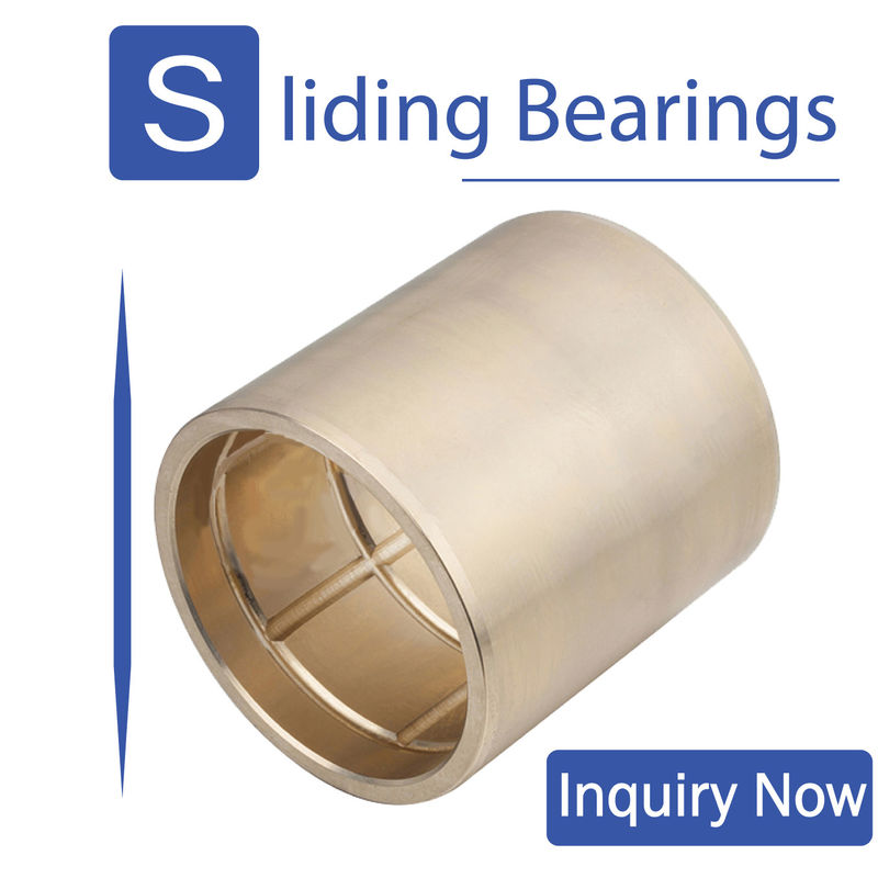 High Precision Self Lubricating Bronze Bushings Multifield Universal Heat Dissipation
