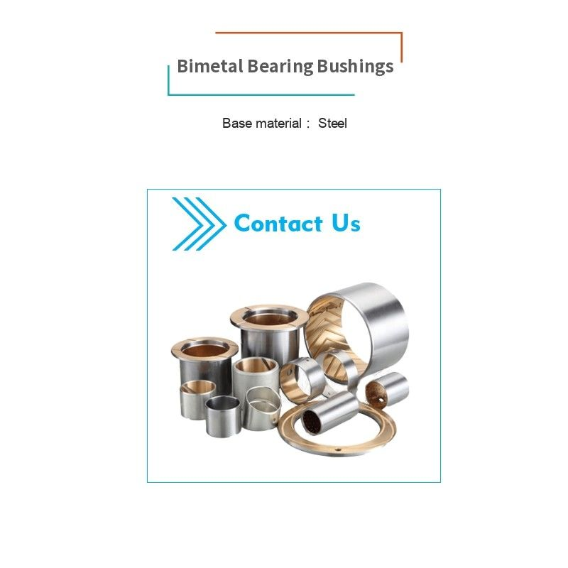 Material Steel Sintered Bushing Bronze Powder Or Rolled Aluminium Tin Alloy