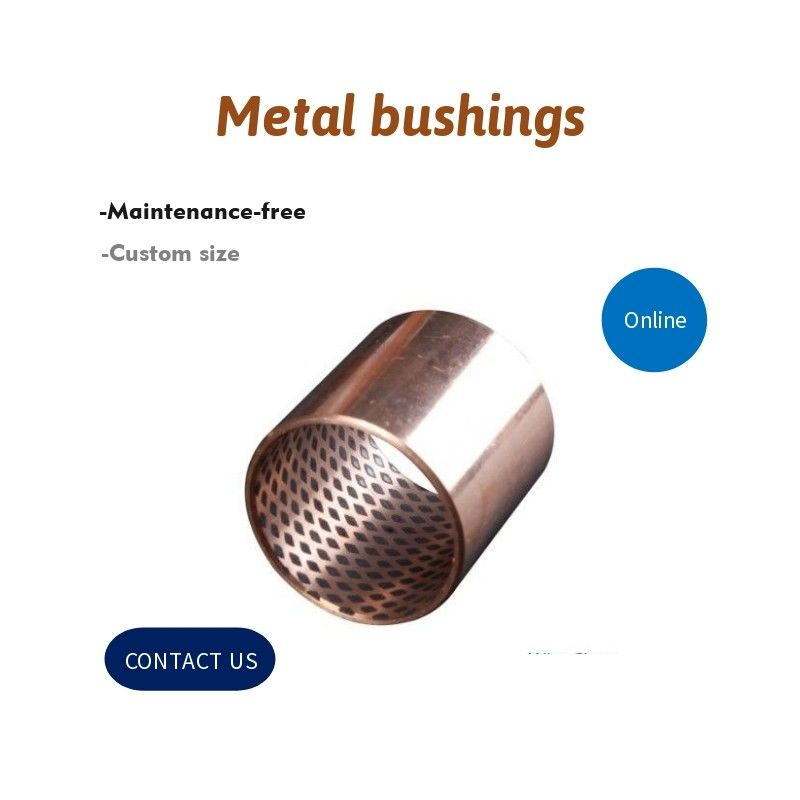 Underwater Wrapped Bronze Bearings Bronze Plain Bearings CuSn8 With Graphite supplier