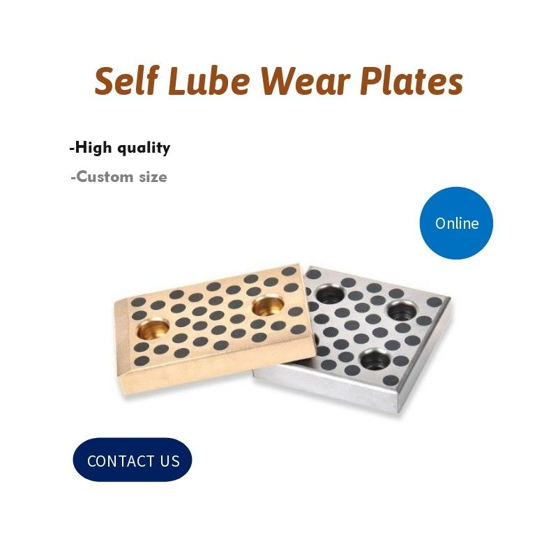 Guide Self Lubricated Bronze Self Lube Wear Plates Inch & Metric Sizes