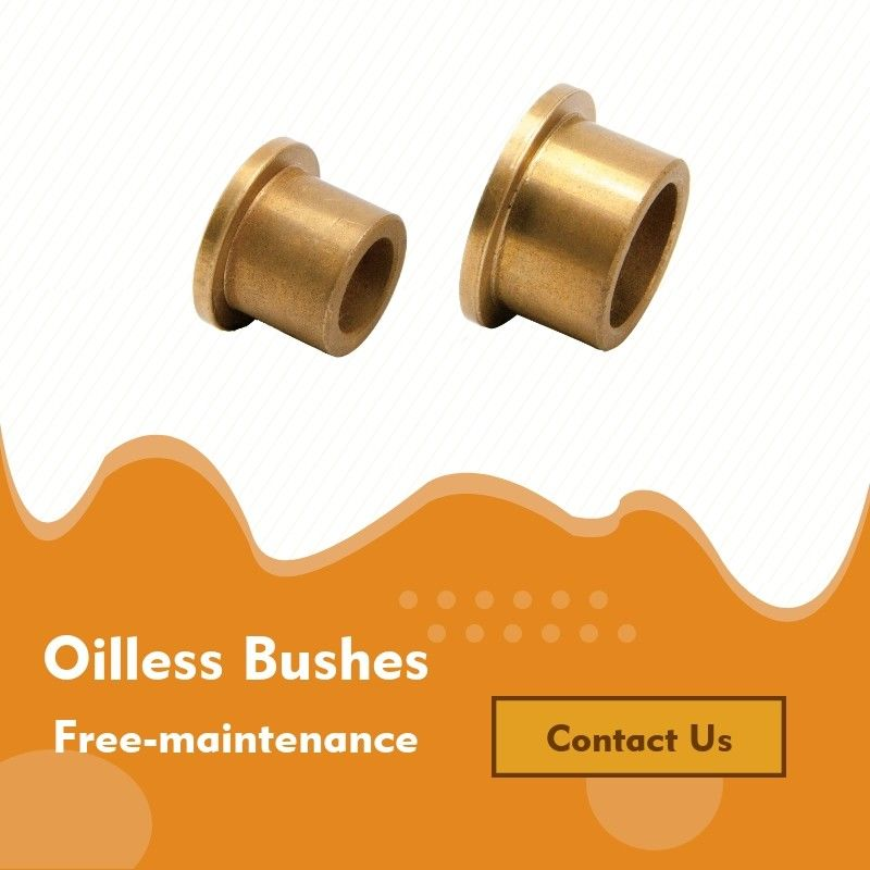Low Maintenance Oil Impregnated Bearing Standard INCH Size For Agricultural Machine supplier