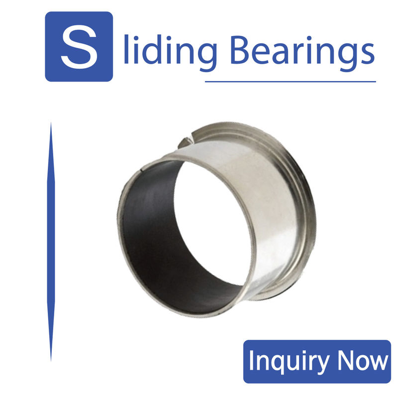 Stainless Steel Composite Sleeve Bearings Corrosion Resistant Oil - Free