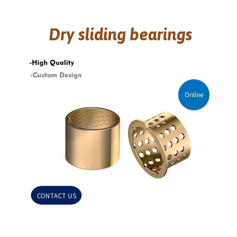 Wrapped Split Type Bronze Bushing CuSn8P DIN 1494 / ISO 3547 For Containers supplier