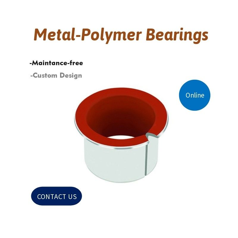 Metal-Polymer Self-lubricating Bearing Solutions | Hydraulic Components supplier