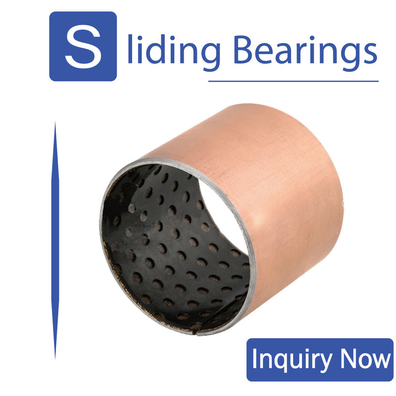 ISO 9001 Dry Self Lubricating Bearings , Pom Bushing For Mining Machinery supplier