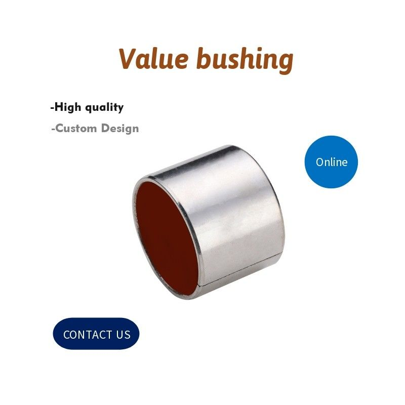 Hydraulic System Cylinder Valve Bushing / Self Lubricating Bearings VSB-40