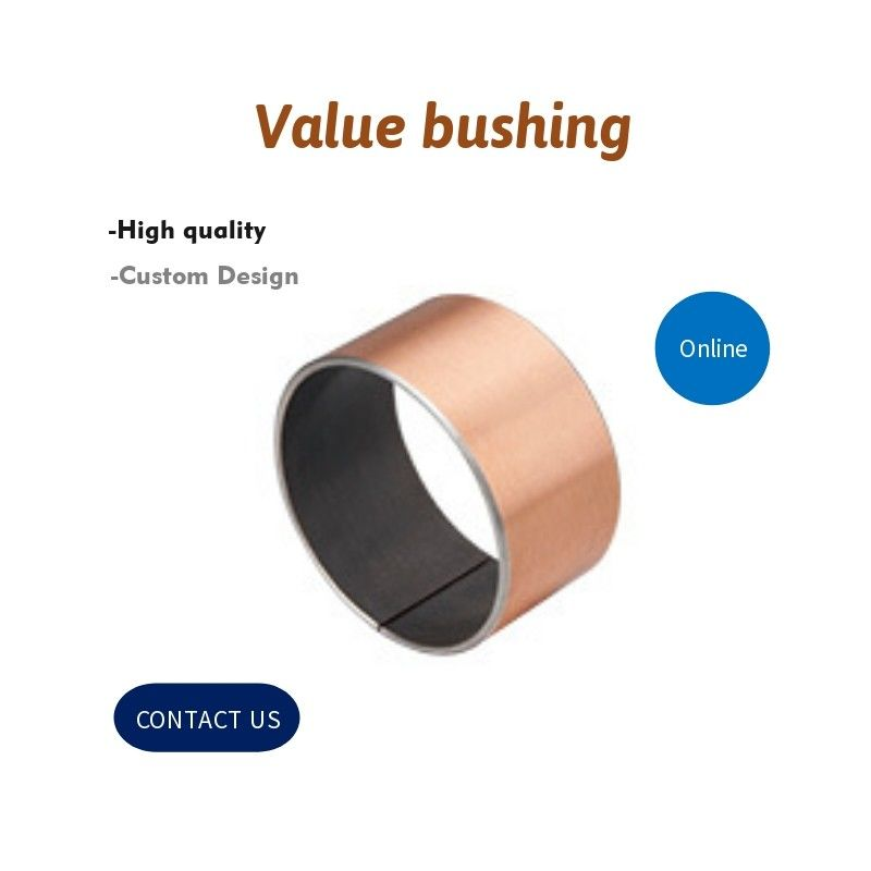 Cylinder Bronze Components Valve Bushing For Hydraulic Industry Pumps