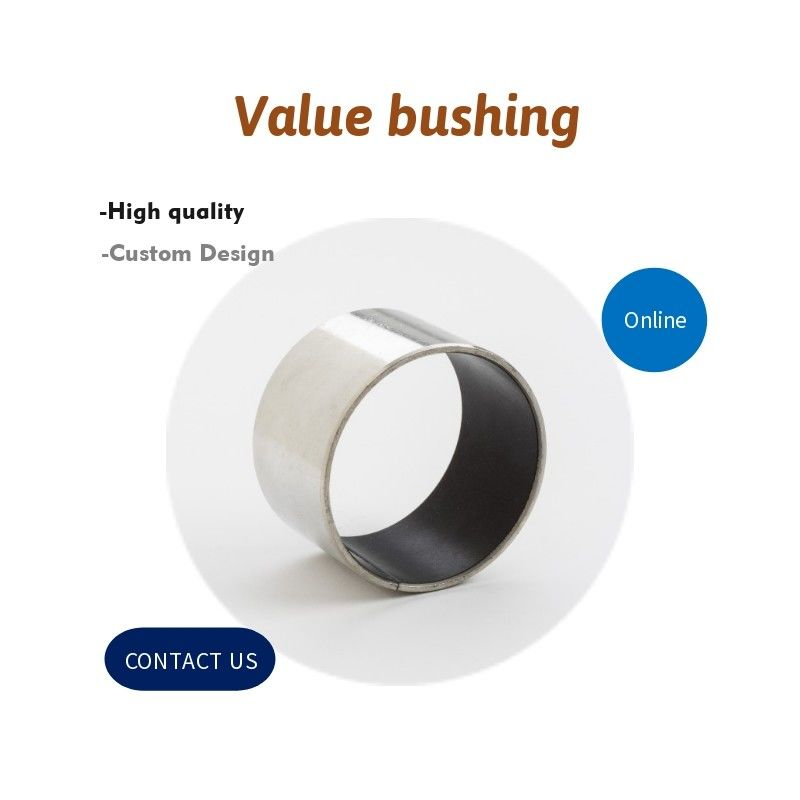 Ptfe Kevlar Woven Bearing Valve Bushing Made Of Stainless Steel 316