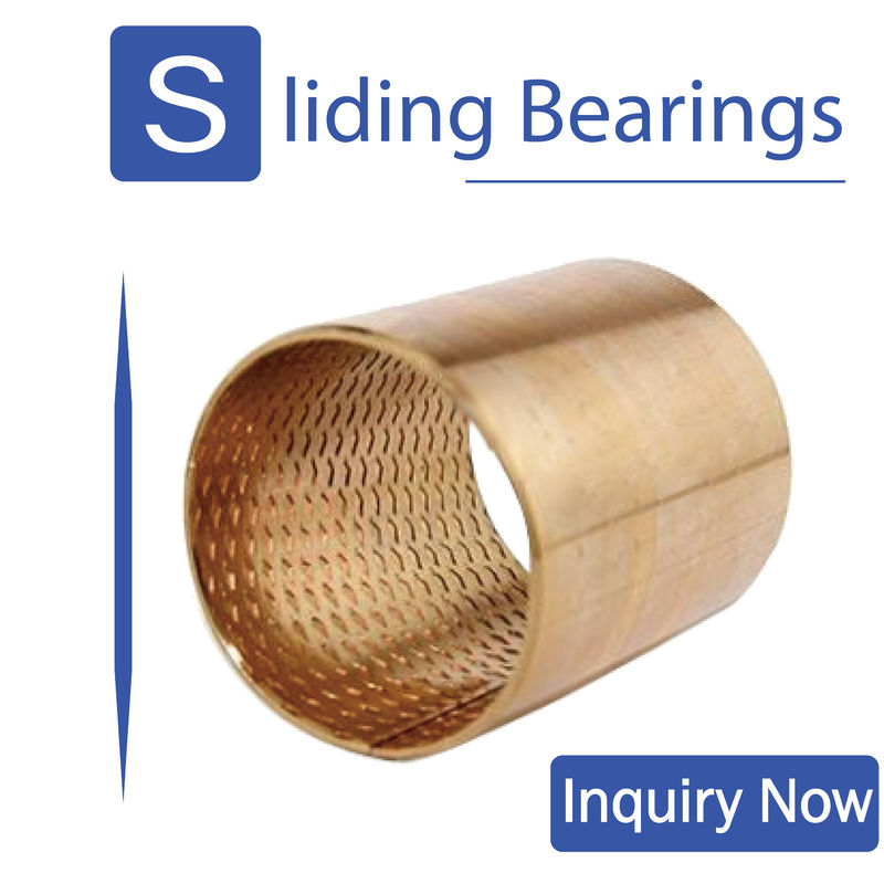 Rolled metal bearings,Tin bronze bearing,Self-lubrication is maintenance-free supplier