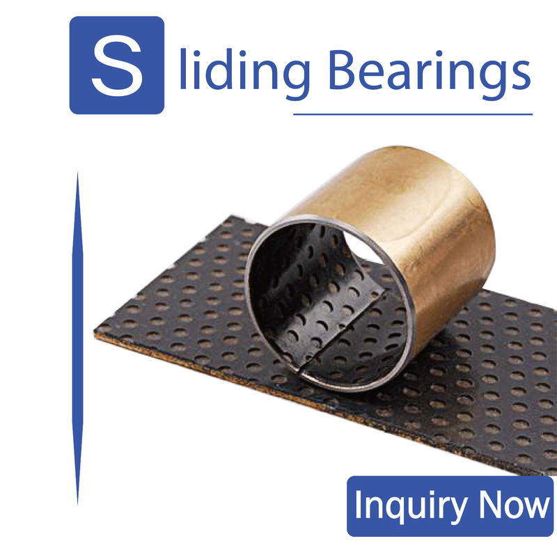 DX Black pom Self-lubricating bearing,No oil, suitable for automobile chassis, forging machine tool supplier