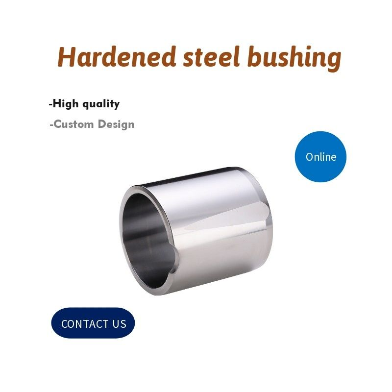 Solid Bushing Hardened Steel Bushing Material S45C Self Lubricating Bearing