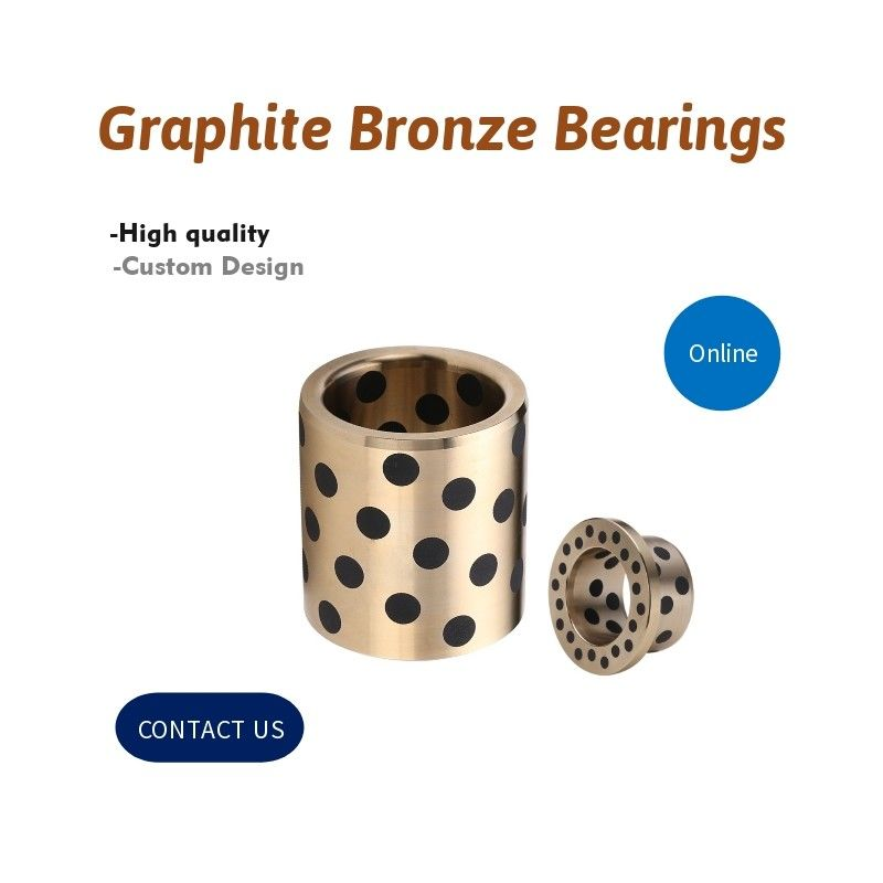 Graphite Bronze Bearings| Straight, Flanged, Washers, Guide Pin, Guide Ejector, Guide Post, Spherical