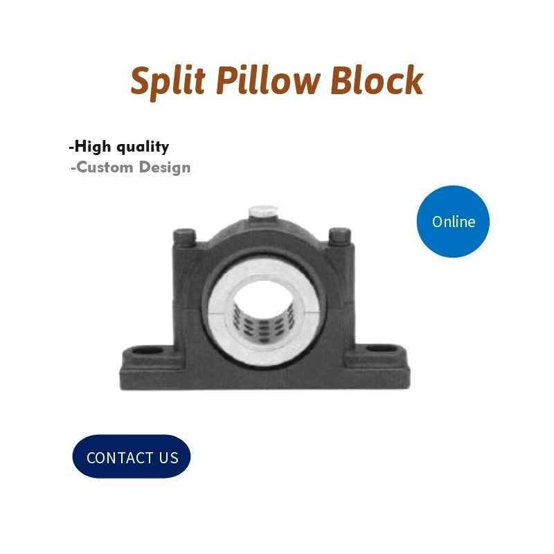 Split Pillow Block, Self Aligning,Pillow Block Bearing High Quality Split Plummer Block Cast Iron Housings
