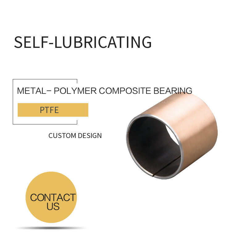 Bronze Backing Metal-Polymer Bearings - Plain Bearings & Self-lubricating Standard INCH SIZE supplier