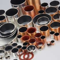 Metal Polymer Bronze Plain Bearing | steel sleeve bushings by size Spare parts and Textile machinery bushings