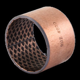 Bronze Sleeve Bushings CuSn8P with Graphite | Qsn8-0.3+graphite bronze bushings 09G