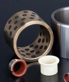 Black Boundary Lubricating Polymer Plain Bearings No Water Absorption