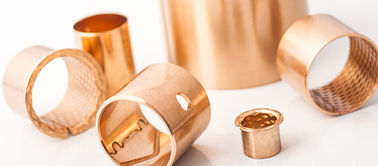 Diamond  oil hole DZT 30*34*28 Bronze Bushings & Bearing | CuSn8 Stock Size