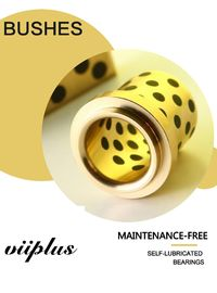 China C86300 SAE430B Manganese Bronze Flange Bushings With Solid Lubricant Plugs Centrifugal Casting factory