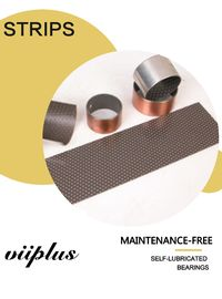 China Polymer Liners Bronze Bushing Material For Improved Wear Properties Bushes factory