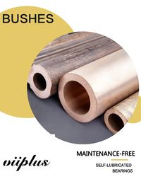 China C95400 Solid Lubricant Bearings America Graphite Plugged Oiles Aluminium Bronze Bearing factory