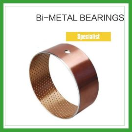 China Bimetal Composite Bearings &  Spilt Oilless Bushes For Engineering Machinery factory