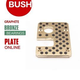 China DIN United States ASTM / UNS Standard Cast Bronze Wear Plates Precision Tolerances factory