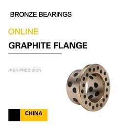 China EN Copper Alloy Bearing | CuZn25Al6Fe3Mn3 Graphite Sleeve Brass Bushing for Chain Conveyors factory