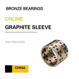China Graphite Plug C86300 H7 Bronze Sleeve Bushings Self Lubrication factory