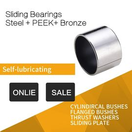 China PEEK Sleeve Bushings For Gear Unit , Hydro Engine & High Pressure Injection Pump factory