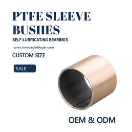 China Guide PAF PAP Self Lubricating Plain Bearing Steel Copper Sleeve Bushes PTFE factory
