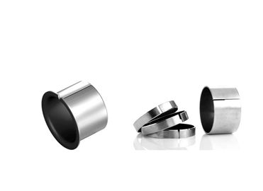 China Steel Backed Bronze Bearing Flange Bushing Low - Maintenance For Air Compressor factory