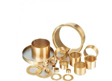 China DIN 1494 Plain CuSn8 Self Lubricating Bronze Bushings 160-165-60mm Perforated factory