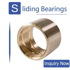 China Oil Grooved in Cast Bronze Bearings & Spiral Sleeve Bushings By Size factory