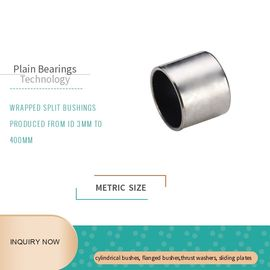China Stainless Steel 316 PTFE Wrapped Bushing DIN 1494 ISO 3547 Maintenance Free factory