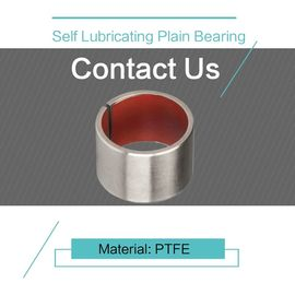 China PTFE Customzied Size Self Lubricating Plain Bearing DIN 1494 / ISO 3547 factory
