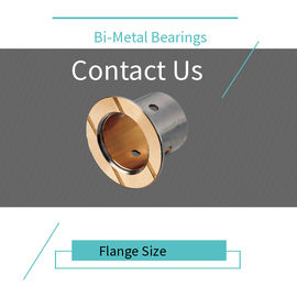China Thin Walled Design Bimetal Bearing Bushes Customizable High Stability factory