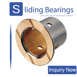 China Sintered High Performance Bimetal Bearing Bushes With Long Life Time factory