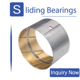 China Connecting Rods Bimetal Bearings Thin Walled Camshaft Bushing factory