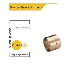 China High Tensile Brass Bushings CuZn25Al5Mn4Fe3 ASTM B505 C86300 Self Lubricating Bearing factory