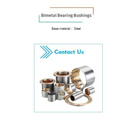 China Material Steel Sintered Bushing Bronze Powder Or Rolled Aluminium Tin Alloy factory