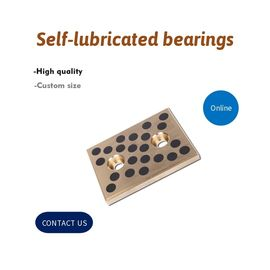China Oil Free Slide Plates Self Lube Wear Plate Components For Press Die And Injection Mold factory