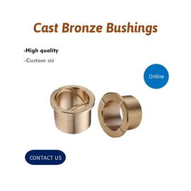 China C86300 C93200 C95400 Cast Bronze Bushings Customization Grooving Type And Product Size factory