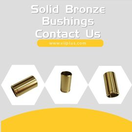 China DN 200 Cast Bronze Bushings , Bronze Sleeve Bearings Low - Maintenance factory