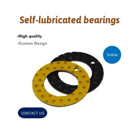 China Complete Solutions for Wear Parts & Bushes Stem Bearings Metal Backed Self Lubricating POM / PTFE factory
