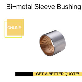China Bimetal Lead-Free Plain Thin Walled bearing Imperial & Metric Sizes Bush With Grooves factory