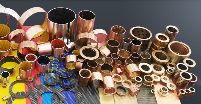 Coated Bearings Guide Bushing | PTFE coated bushing - Oiles Bush,Oilless Bearing,Bronze