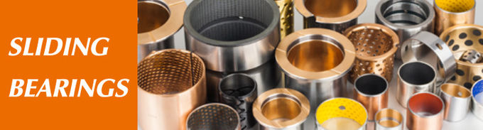 Cast Bronze Solid Lubricant Bearings & Plate Standard Size Chemical Resistant for Railways